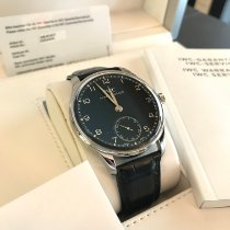 IWC Portuguese Hand-Wound Stål Sort Danmark, Kgs.Lyngby