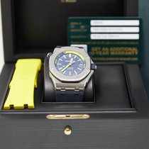 Audemars Piguet Royal Oak Offshore Diver Steel 42mm Blue No numerals United States of America, California, Los Angeles