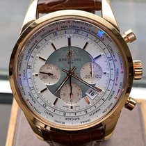 Breitling Transocean Chronograph Unitime new 2017 Automatic Chronograph Watch with original box and original papers RB0510U0/A733