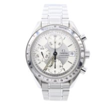 Omega Speedmaster Date Steel 39mm Silver No numerals United States of America, New York, New York