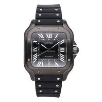Cartier Santos (submodel) nuevo 2020 Automático Reloj con estuche y documentos originales WSSA0039