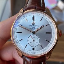 Breitling Red gold 40mm Silver