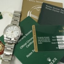Rolex Oyster Perpetual Date new 2013 Automatic Watch with original papers Rolex 177210 Oyster Perpetual 31 mm stainless steel with card, books & tags dates 2013