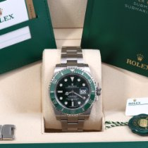 Rolex Submariner Date Steel 40mm Green No numerals United States of America, California, Beverly Hills