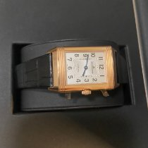 Jaeger-LeCoultre Reverso Classic Medium Duetto Or rose 40.1mm Argent Arabes