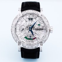 Graf White gold 43mm Manual winding pre-owned