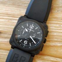 Bell & Ross BR 03-94 Chronographe nuevo 2020 Automático Cronógrafo Reloj con estuche y documentos originales BR0394-BL-CE