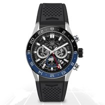TAG Heuer Steel 45mm Chronograph CBG2A1Z.FT6157 new