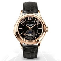 Patek Philippe Minute Repeater Perpetual Calendar Rose gold 41mm Black No numerals