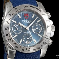 Tudor Sport Chronograph Steel 41mm Blue