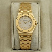 Audemars Piguet Royal Oak Offshore Lady Yellow gold 24.3mm White United States of America, New York, Airmont