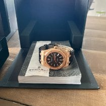 Audemars Piguet 15300OR.OO.D002CR.01 Rose gold 2012 Royal Oak Selfwinding 39mm pre-owned