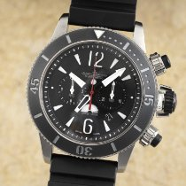 Jaeger-LeCoultre Master Compressor Diving Chronograph GMT Navy SEALs Steel 46.5mm Black