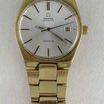 Omega Genève Gold/Steel 35mm Silver United States of America, California, Woodland Hills