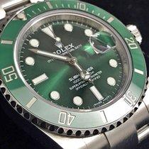 勞力士 Submariner Date 鋼 40mm 綠色 無數字