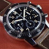 브레게 스틸 수동감기 검정색 아라비아 숫자 40mm 중고시계