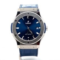 Hublot 511NX7170LR 2010 Classic Fusion Blue 42mm pre-owned United States of America, New York, New York