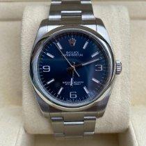 Rolex Oyster Perpetual 36 Staal 36mm Blauw Arabisch Nederland, Alkmaar