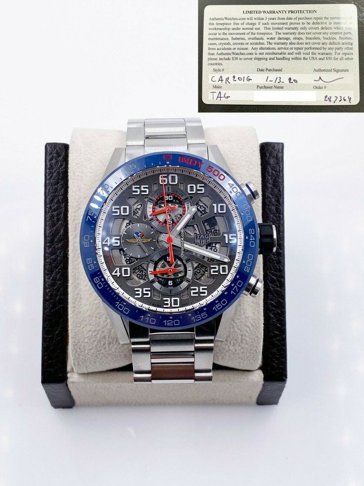 TAG Heuer Carrera 2020 pre-owned