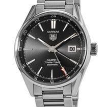 TAG Heuer Carrera Calibre 7 Steel 41mm Black No numerals United States of America, New York, New York