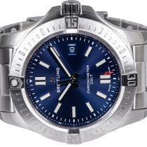 Breitling Chronomat Colt Steel 44,00mm Blue No numerals