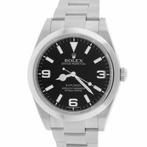 Rolex Explorer Steel 39mm Black Arabic numerals United States of America, New York, Massapequa Park