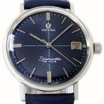 Omega Seamaster DeVille Acier 34mm Bleu Sans chiffres