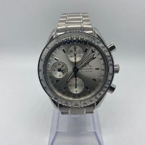 Omega Steel Automatic Silver 39mm pre-owned Speedmaster Day Date