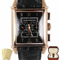 Girard Perregaux Vintage 1945 Rose gold 30mm Black Arabic numerals United States of America, New York, Smithtown