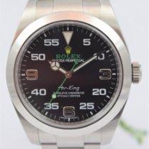 Rolex Air King 116900 Ungetragen Stahl 40mm Automatik