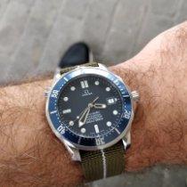 Omega Seamaster Diver 300 M Otel Albastru Fara cifre România, Timisoara