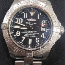 Breitling Steel 45mm Automatic A17330 pre-owned India, Mumbai