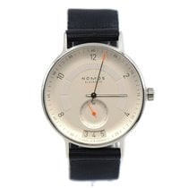 NOMOS pre-owned Automatic 41mm Silver Sapphire crystal 10 ATM