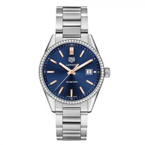 TAG Heuer Carrera Lady Steel 39mm Blue United States of America, New York, New York