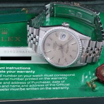 Rolex Datejust Turn-O-Graph Steel 36mm Silver United States of America, California, Beverly Hills
