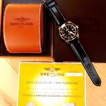 Breitling Superocean Héritage 42 подержанные 42mm Черный Дата Кожа