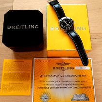 Breitling Superocean Heritage 42 подержанные 42mm Черный Дата Кожа