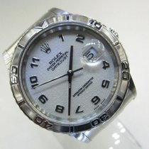 Rolex Datejust Turn-O-Graph Steel 36mm White Malaysia