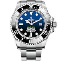 Rolex Sea-Dweller Deepsea Steel 44mm Blue No numerals Malaysia
