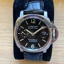 Panerai Luminor Marina Automatic Steel 40mm Black Arabic numerals Australia, Toorak