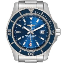 Breitling Superocean II 44 Steel 44mm Blue United States of America, Georgia, Atlanta