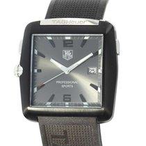 TAG Heuer Professional Golf Watch Staal 36.5mm Grijs Arabisch
