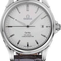 Omega De Ville Co-Axial Acero 37.5mm Blanco Sin cifras