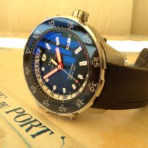 IWC Aquatimer Deep Two Steel 46mm Black No numerals