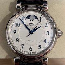 IWC Da Vinci Automatic Steel 36mm Silver Arabic numerals