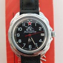 Vostok 43mm Black Arabic numerals