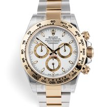 Rolex Daytona Gold/Steel 40mm White