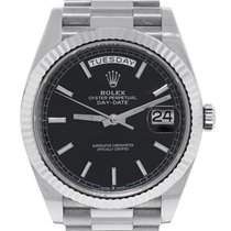 Rolex Day-Date 40 Good White gold 40mm Automatic United States of America, Florida, Boca Raton