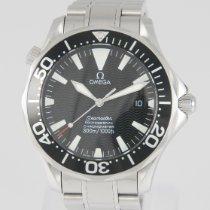 Omega 22545000 Steel 2005 Seamaster Diver 300 M 41mm pre-owned