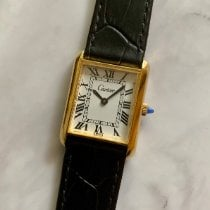 Cartier Or jaune 29mm Remontage manuel Tank (submodel) occasion France